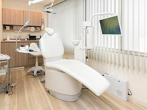 プライバシーを配慮した治療室