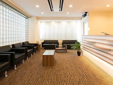 くつろぎの院内・安心できる個室の診療室