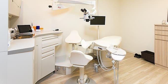 患者さまに優しい治療用ユニット